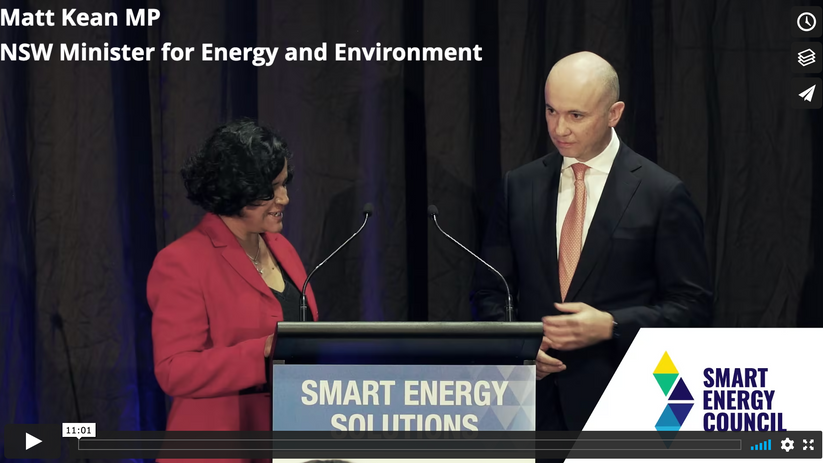 Smart Energy Conference & Exhibition 2021 - Smart Energy Solutions - Matt Kean