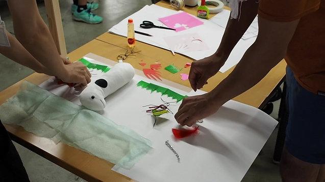 夏休みワークショップ「コマ撮りアニメーションを作ろう!」