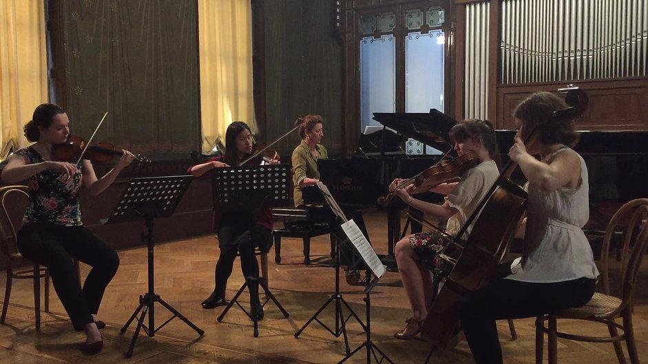 Piano Quintet in A major, Op. 81: Dumka [excerpt]