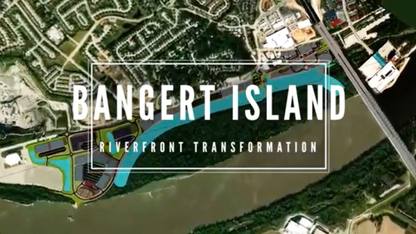 Banger Island Riverfront Transformation