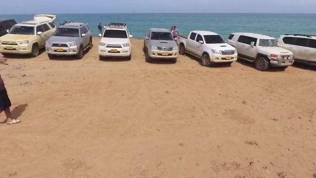 video 4x4 guajira