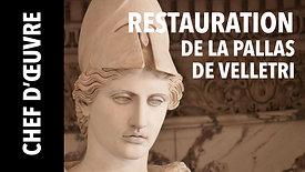 La restauration de la Pallas de Velletri au musée du Louvre