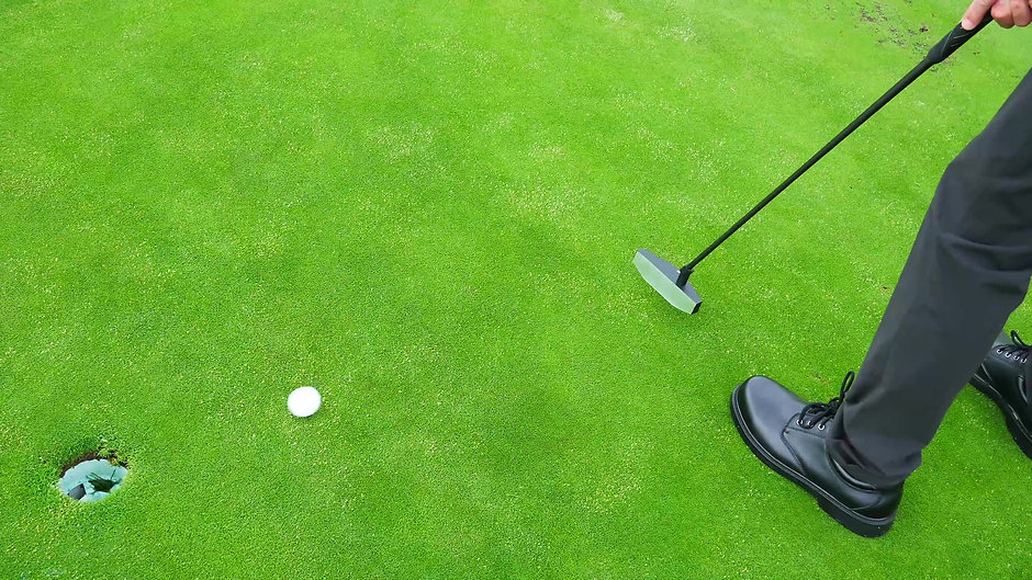 The Black Mamba Putter™ in action