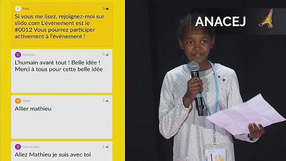 Plénières interactives d'un congrès de 3 jours