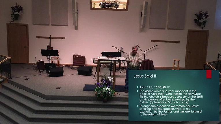Sunday Service: May 24th, 2020