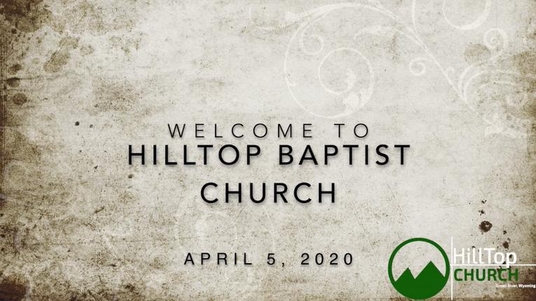 4.5.2020 HillTop Service