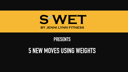 5 Exercises Using Weights