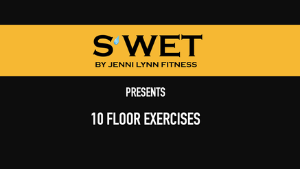 10 Floor Exercises