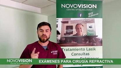 EXÁMENES CIRUÍA REFRACTIVA