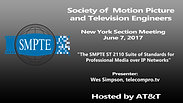 SMPTE-NY June, 2017 Meeting