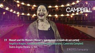 Angélica Aragón invita a Mozart y sus mujeres