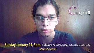 Arian Castro Murillo invites