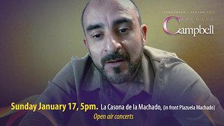 Aldo Tercero invites to mexican waltzes