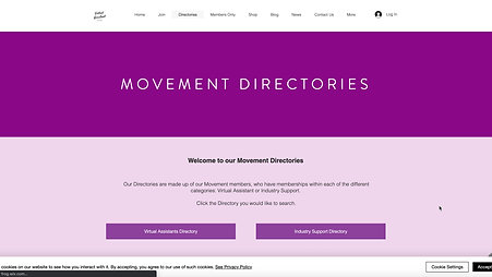 How to search our Directories