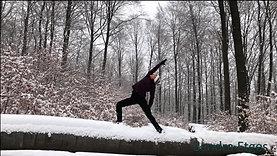 Kriegerflow im Schnee