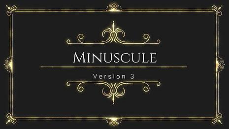 Minuscules! (1)