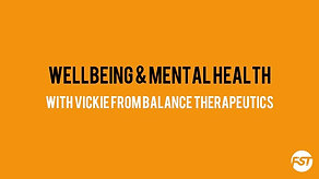 Wellbeing & Mental health