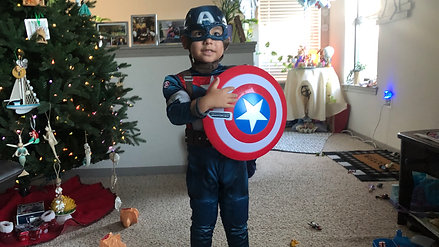 Captain Puerto Rico Becomes Captain America
