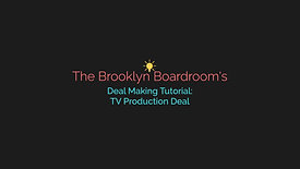 TV Production Deal