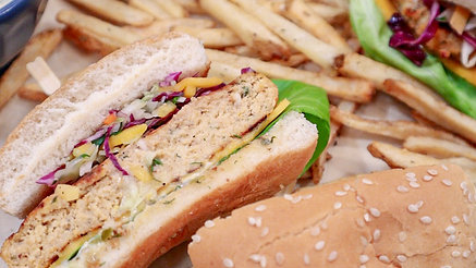 Flame Grilled Tilapia Burgers