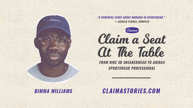 Claim a Seat At The Table: Bimma Williams