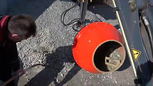 Black Splitter Mischtrommel mixeur a ciment