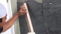 Soft-Stone installation method