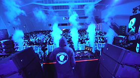 Angerfist in Korea at Cass Blue Playground