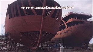 40mt ve 52mt Sac Tekne İmalatı