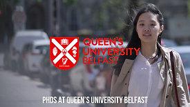 PhDs at Queen's University Belfast