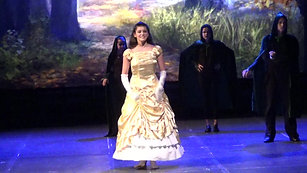 """On the Steps of the Palace"" Veronica Garrubbo (14) as Cinderella @ 2017 Into The Woods, The Media Theatre"