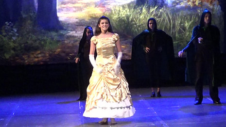 Veronica (14) as Cinderella - 2017 Into The Woods