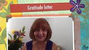Gratitude letter