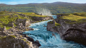 Painting an Icelandic Landscape