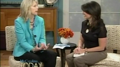 My Carolina Today interview  (both humor books)