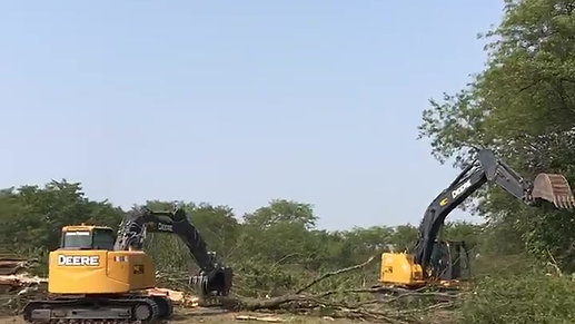 Landclearing
