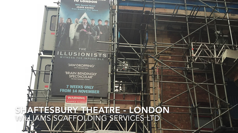 Shaftesbury Theatre - London
