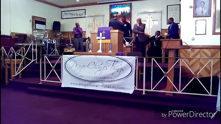 Bishop Caesar R. Cabiness @ Prayer Changes Things 19th Annual Prayer Conference 2017 - Bishop Fetson & Lady Joyce Leak, Host