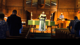 Sunday worship on October 10, 2021 at St. Andrew's Episcopal Church