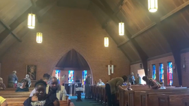 Sunday Worship on May 30, 2021 at St. Andrew's Episcopal Church in Lawton, OK