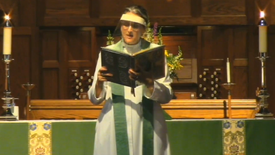 Sunday worship on September 12, 2021 at St. Andrew's Episcopal Church