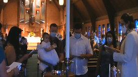Rudy Wiglesworth Baptism Sept 20, 2020
