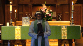 Sunday worship October 3, 2021 at St. Andrew's Episcopal Church.