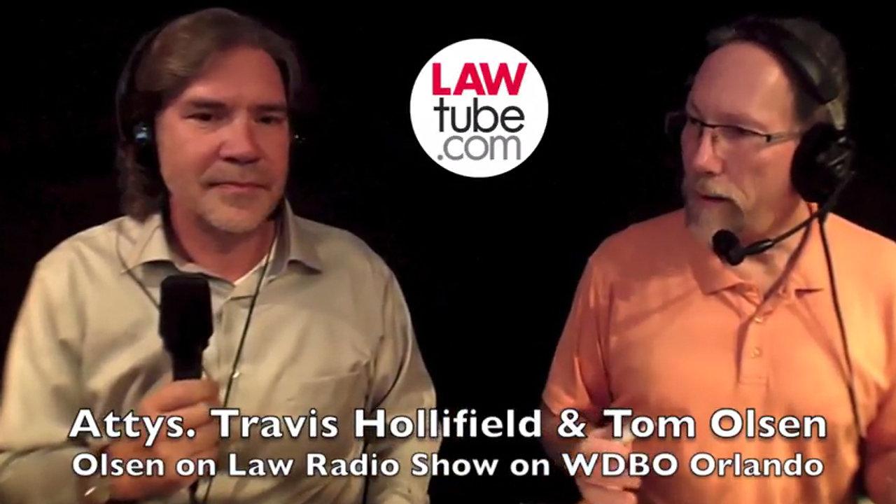 Travis Hollifield on LawTube.com