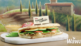 Wawa - Flatbread - Tuscan Turkey - LightSpace Studios Stage B - Directed By Mike Goubeaux