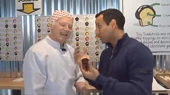 On the Go with Joe at Toadstool Cupcakes - KPTV - FOX 12