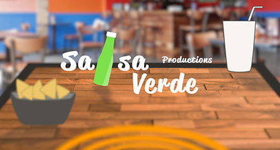 Salsa Verde Productions Intro PRe-Vis