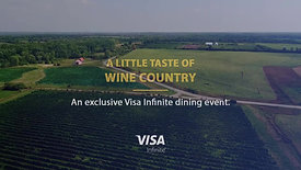 Visa Infinite Dining- A little taste of wine country