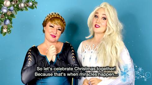 Elsa and Anna promo