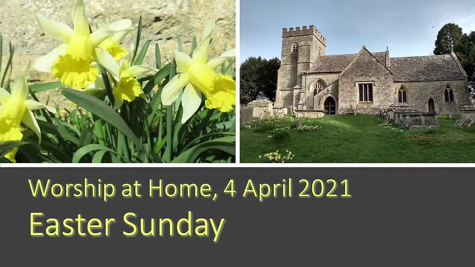 Easter Sunday 4th April 2021